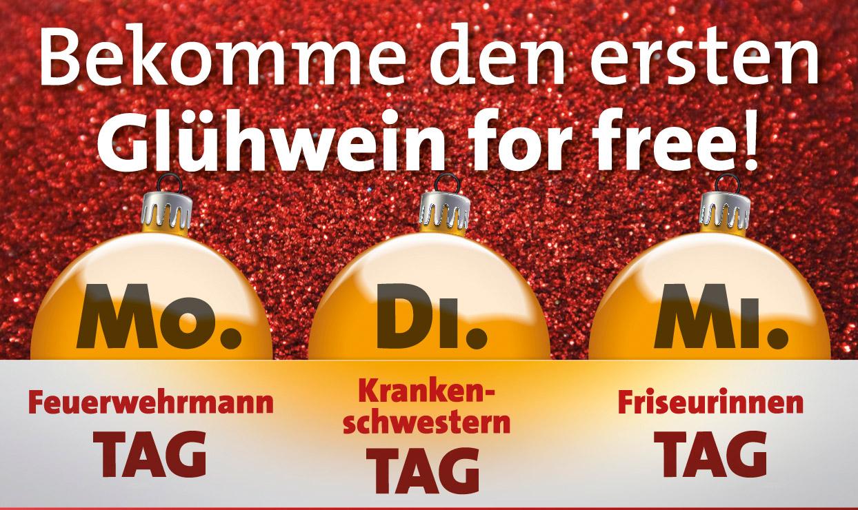 Glühwein for free